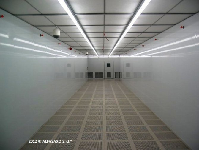 CLEANROOM in RECTIFIER S.p.A.